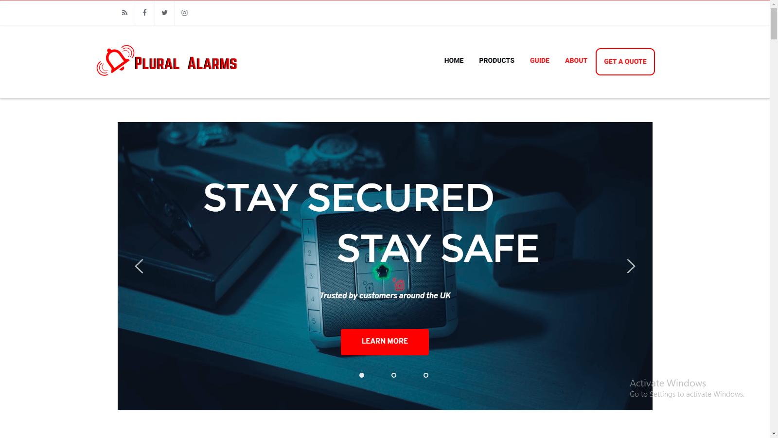 Plural Alarms